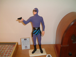The Phantom with Lee Falk autograph