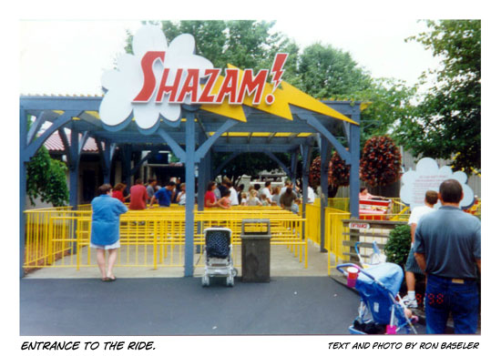 Shazam!: The Ride - Entrance
