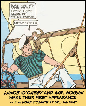 Lance O'Casey and Mr. Hogan make their first appearance.