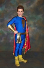 Kelly Delcambre as Captain Marvel, Jr.