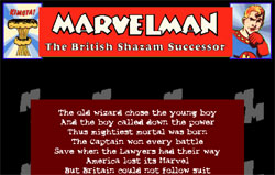 Marvelman: The British Shazam Successor