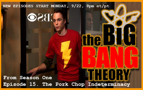 The Big Bang Theory Returns Monday, September 22, 2008 border=