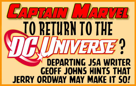 Captain Marvel to Return to the DC Universe? border=