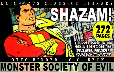 DC Comics Classics Library: Shazam! - Monster Society of Evil Hits Stores December 2009! border=