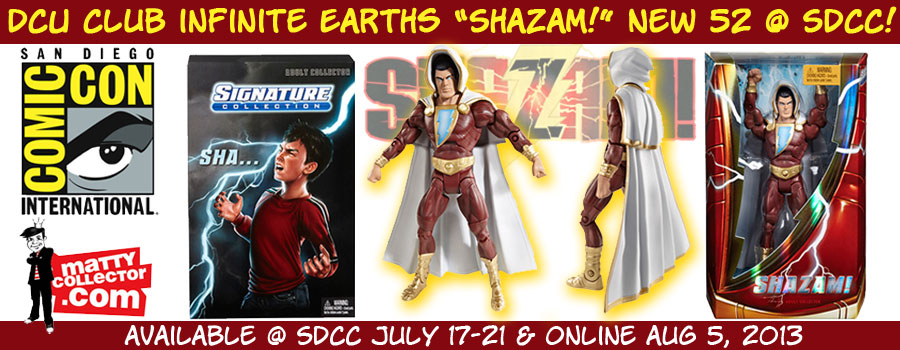 DC Club Infinite Earths - Shazam! New 52 Action Figure @ San Diego Comic-Con International border=