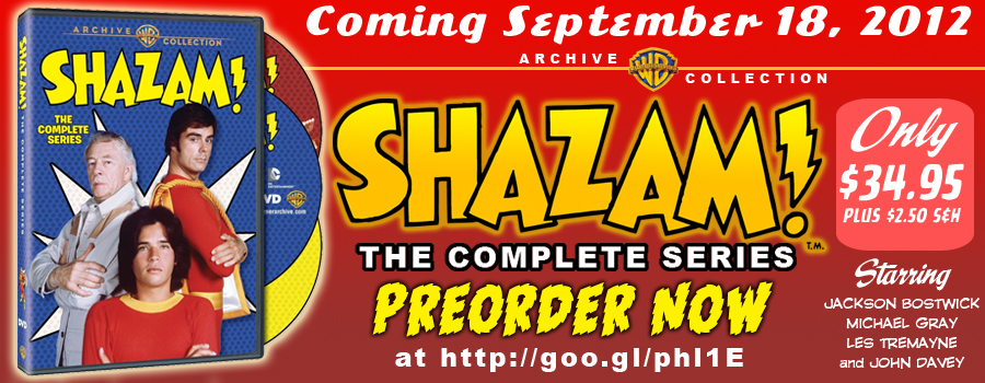 Shazam! The Complete Series is Available for Preorder at the WB Shop! border=