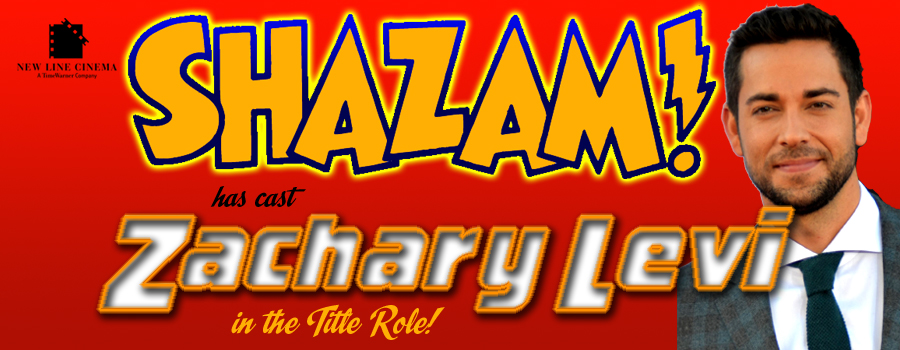 Zachary Levi is Captain Marvel in Shazam! border=