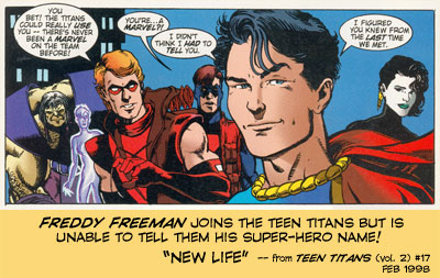 Junior joins the Teen Titans!