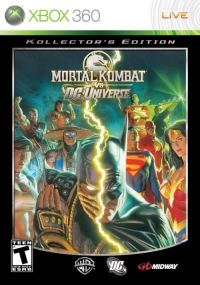 Alex Ross's cover art to the Kollector's Edition of Mortal Kombat Vs DC Universe for the XBox 360